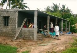 Equipement pour une cantine en Inde – Juillet 2010