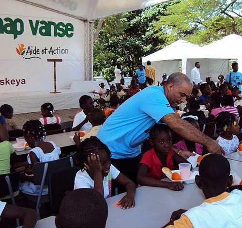 Opération Haïti avec Aide et Action – Septembre 2010