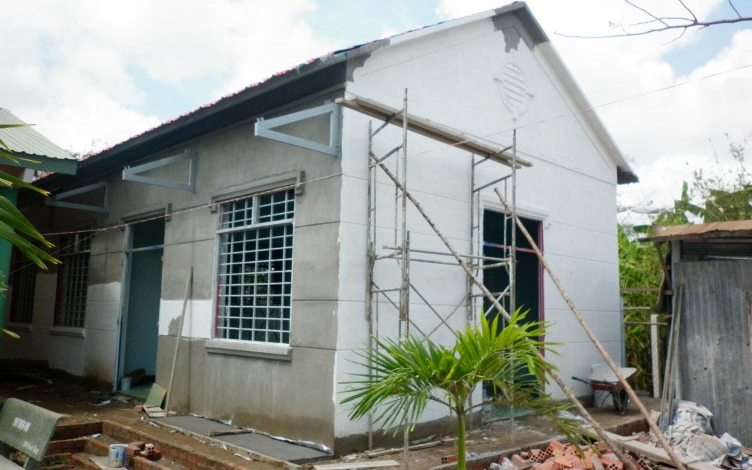 Construction de la 2è cantine au Vietnam – Avril 2012