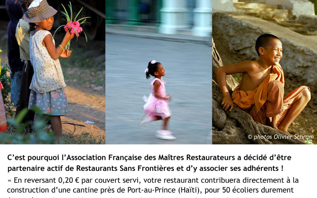 0,20 € par repas reversés à RSF – Nov. 2012