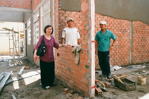 Quatrième cantine au Vietnam à My Hung – Avr. 2013