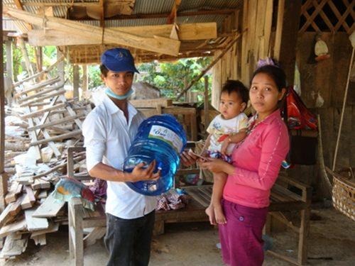 Visite d'une station d'épuration d'eau au Cambodge – Oct. 2013