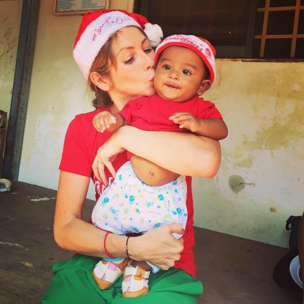 Stella Désirée Bosch Sreyka Smile Cambodge