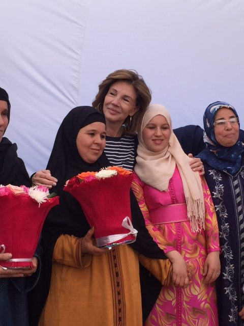 Lancement d'une cantine à Asni au Maroc – Déc 2016