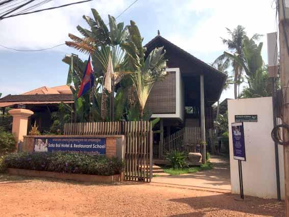 Inauguration des internats de l'école Sala Bai au Cambodge – Mars 2018