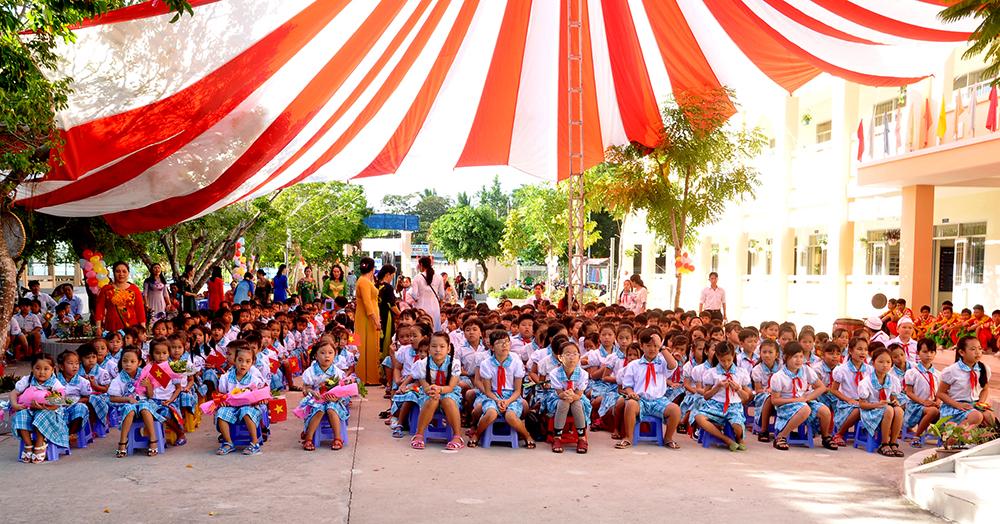 Le succès de l'école primaire de Thoi An Dông, Vietnam – septembre 2018