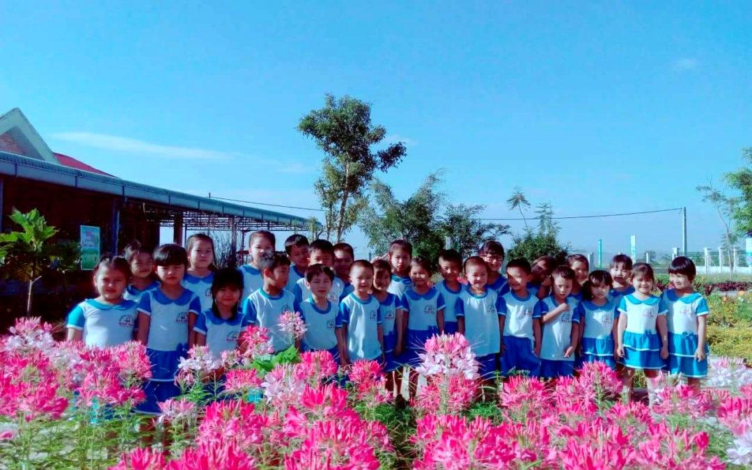 C'est la rentrée scolaire à An Khê, Vietnam – septembre 2018