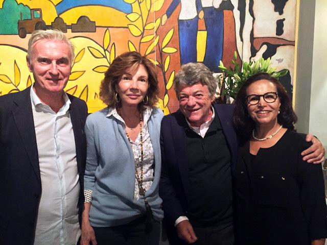 Collecte pour Asni avec la Fondation Béatrice Schonberg, octobre 2018