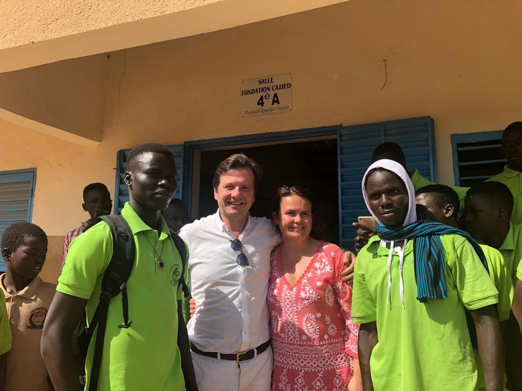 Elisabeth et Denis Terrien Fondation CAJJED partenaire de RSF