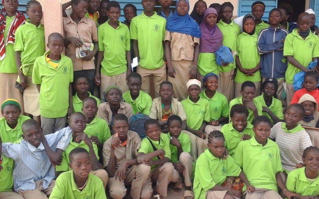 Inauguration de la cantine du collège Hampanli au Burkina Faso – Décembre 2018
