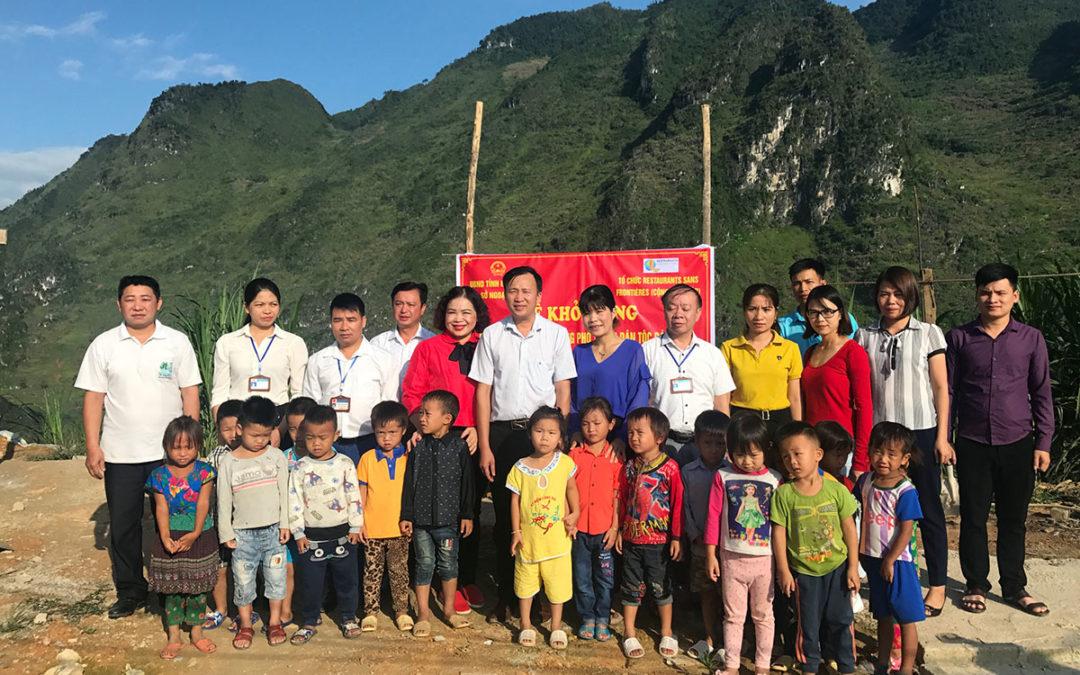 Khau Vai, notre 8ème cantine au Vietnam