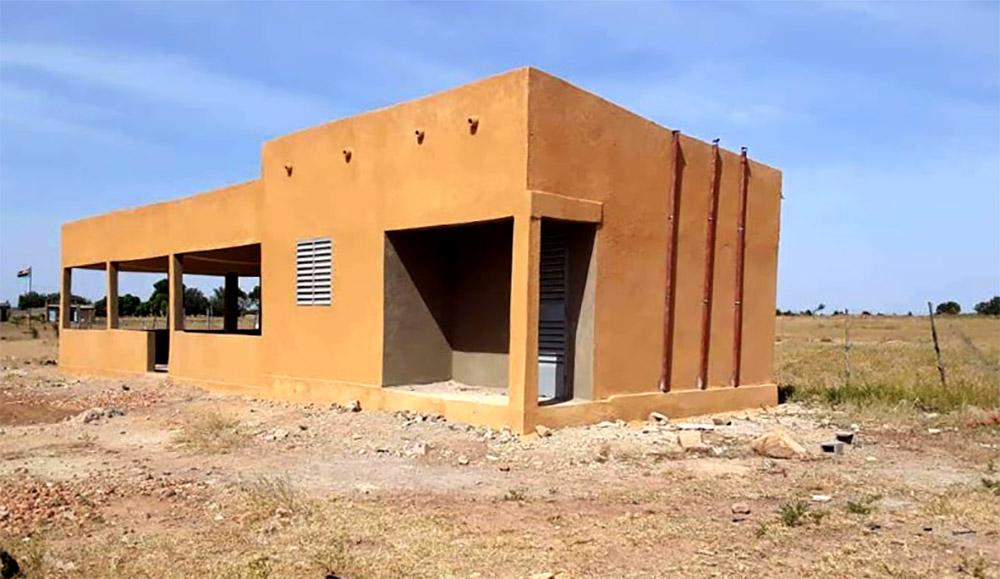 Batiment cantine Ecole B Loanga