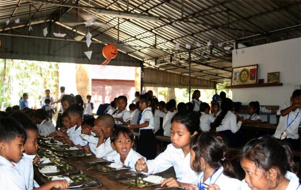 ÉCOLE DU BAYON de Siem Reap au Cambodge