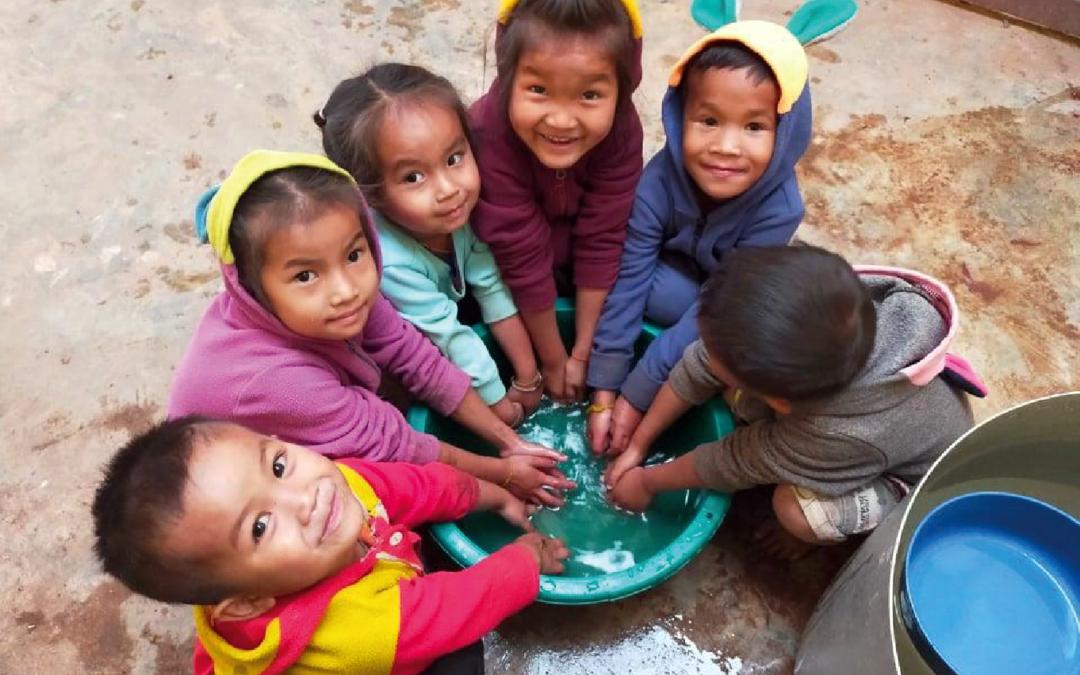 Une cantine pour l'école du village de Nong Seng – Laos